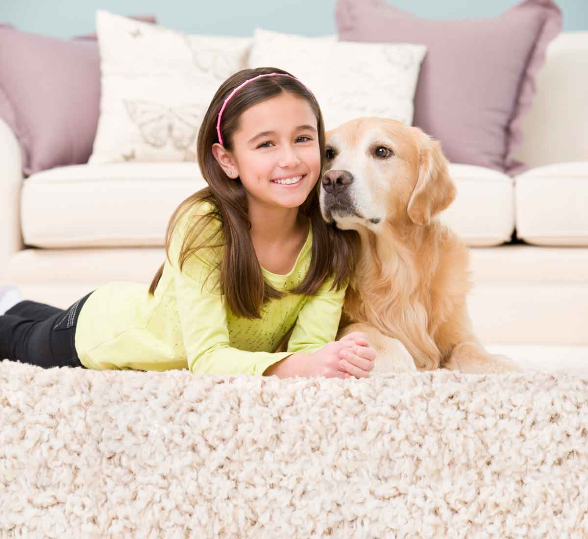 kid and pet safe carpet cleaning