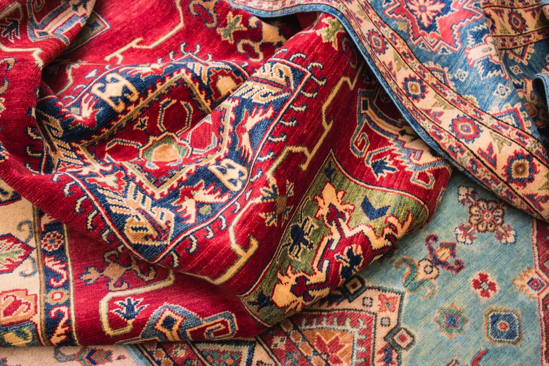 freshly cleaned oriental rug in annapolis md